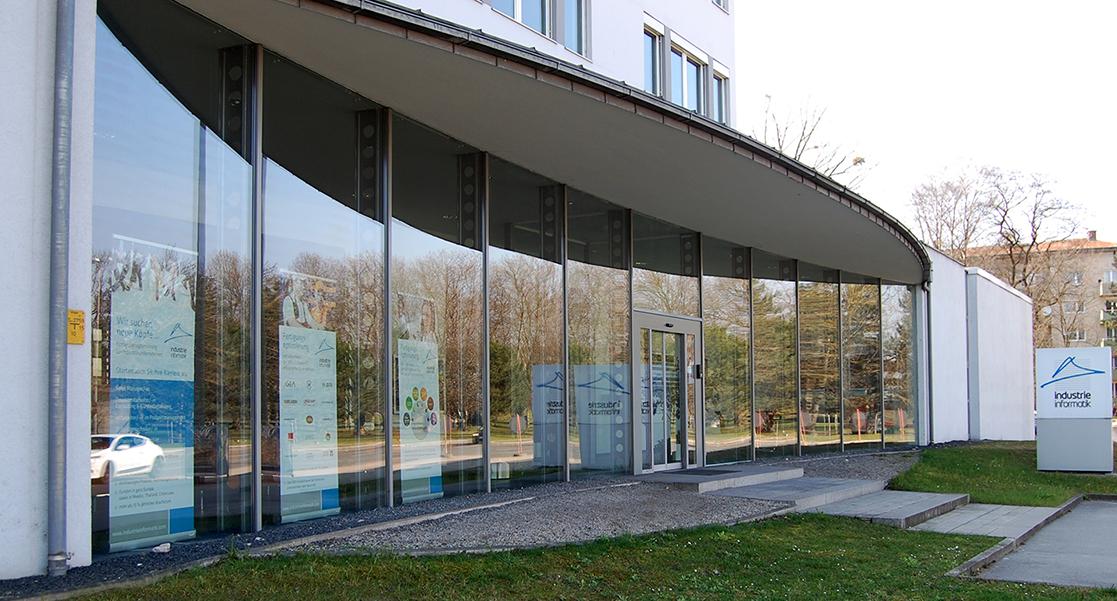 Industrie Informatik Linz Haupteingang