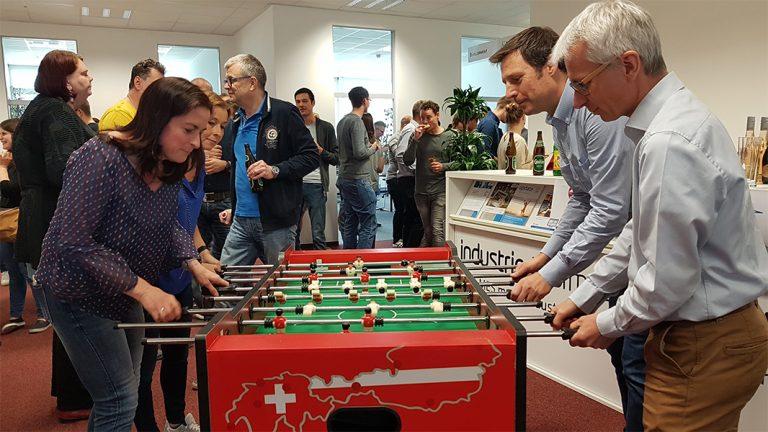 Industrie Informatik Mitarbeiter Event
