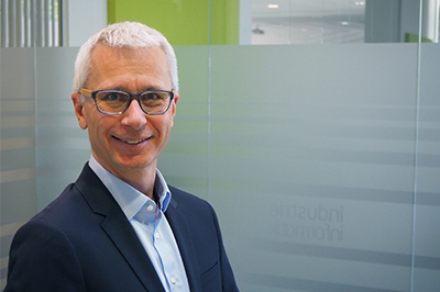 Bernhard Falkner CTO Industrie Informatik