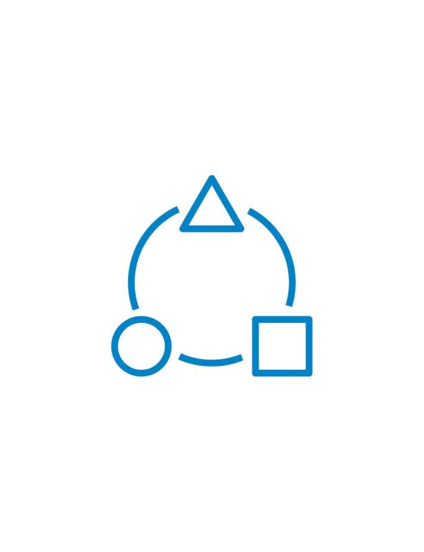 symbole icon blau