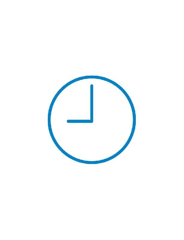 uhr icon blau