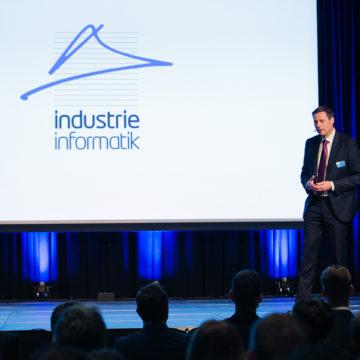 Markus Zalud am Industrie Informatik Innovationstag 2019
