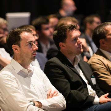 Publikum am Industrie Informatik Innovationstag 2019