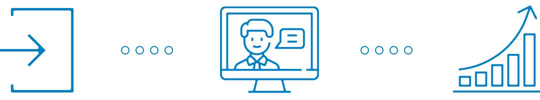 blaue Icons zum Webcast-Herbstprogramm
