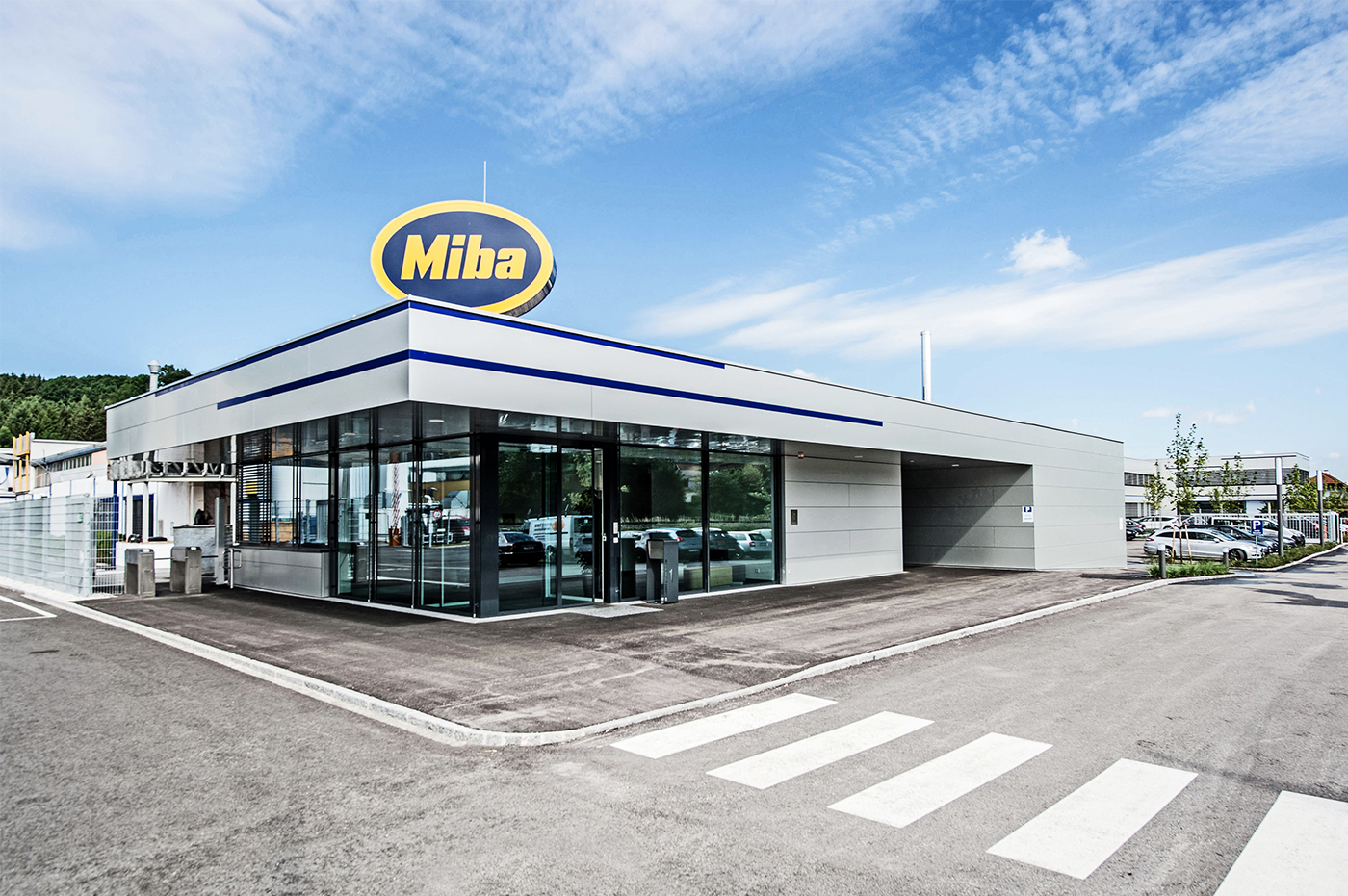 Eingang Miba